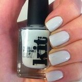 Associate ed Alison tried Kit Cosmetics' New Attitude polish. Seriously, it's the perfect off white.