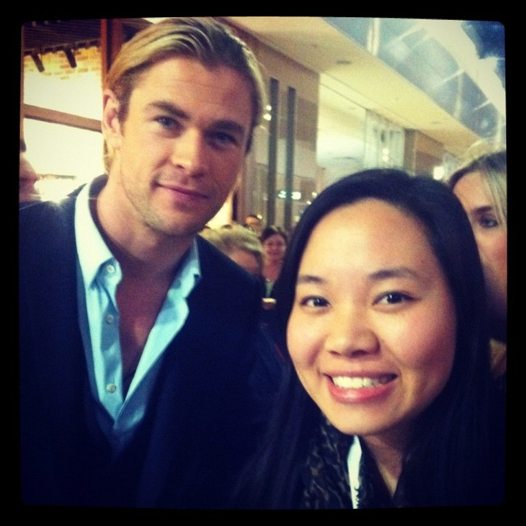 And CHRIS HEMSWORTH.