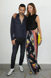 Fabio Novembre and Candela Novembre at the Costume National Homme Spring 2013 Show in Milan.