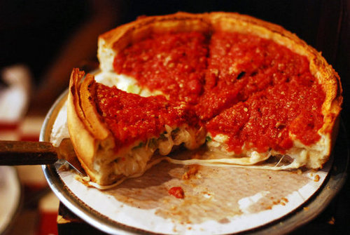 Illinois: Deep-Dish Pizza