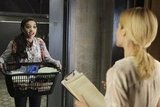 Samantha Logan and Rachael Taylor on 666 Park Avenue.