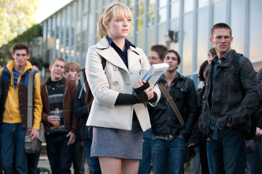 Emma Stone in The Amazing Spider-Man.  Photo courtesy of Sony