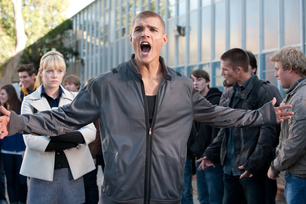 Emma Stone and Chris Zylka in The Amazing Spider-Man.  Photo courtesy of Sony