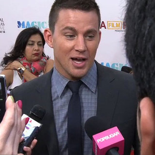 Channing Tatum at Magic Mike Premiere (Video)