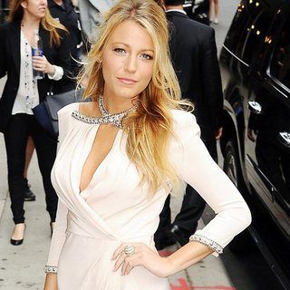 Blake Lively Pictures at Late Show With David Letterman