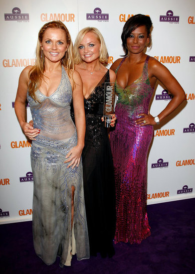 Three of the ladies stepped out for the 2008 Glamour Women of the Year Awards in London.