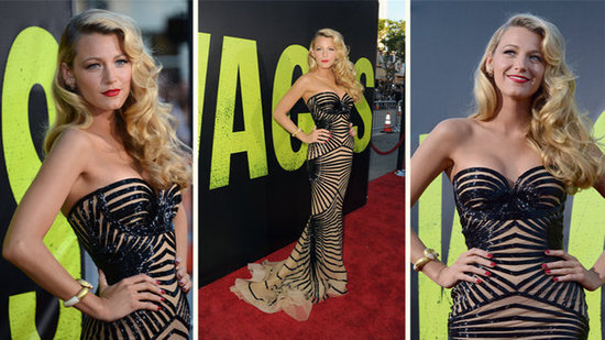 "Video: Blake Lively Goes From Being ""Covered in Dirt"" to Glam at Savages Premiere"