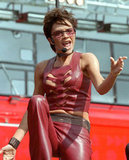 Victoria Beckham performed in the UK as a guest singer with the group True Steppers in August 2000.