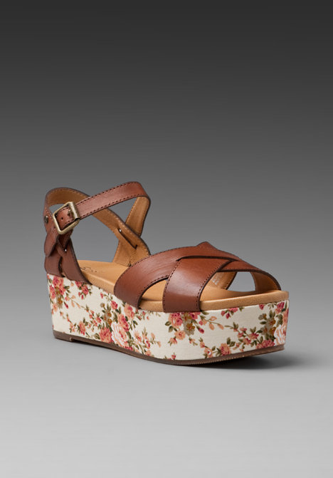 If a flat-form is more your speed (and it really should be — they're insanely comfortable!), then try this floral pair. They'll look especially sweet with cuffed jeans and a simple white t-shirt. Bass Ophelia Sandal ($74)