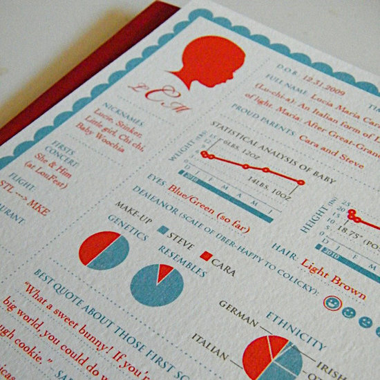 Details, Details! Infographics Make Their Way Into the Nursery