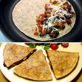 Tomato, Black Bean, and Tofu Quesadilla