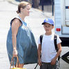 Pregnant Reese Witherspoon on Set With Deacon Pictures