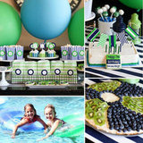 Tommy's Preppy Pool Birthday Party