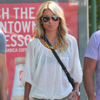 Kelly Ripa Printed Shorts
