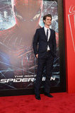 Andrew Garfield Talks Emma Stone at The Amazing Spider-Man Premiere
