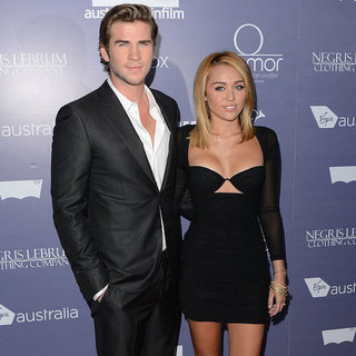 Miley Cyrus Engaged to Liam Hemsworth Pictures