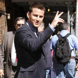 Pictures of Channing Tatum at the Late Show With David Letterman