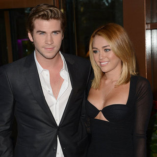Miley Cyrus Wearing Ring With Liam Hemsworth (Video)