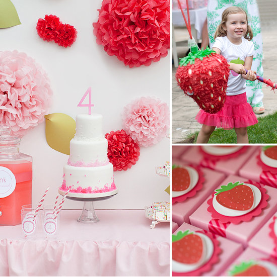 A Strawberry Shortcake Party