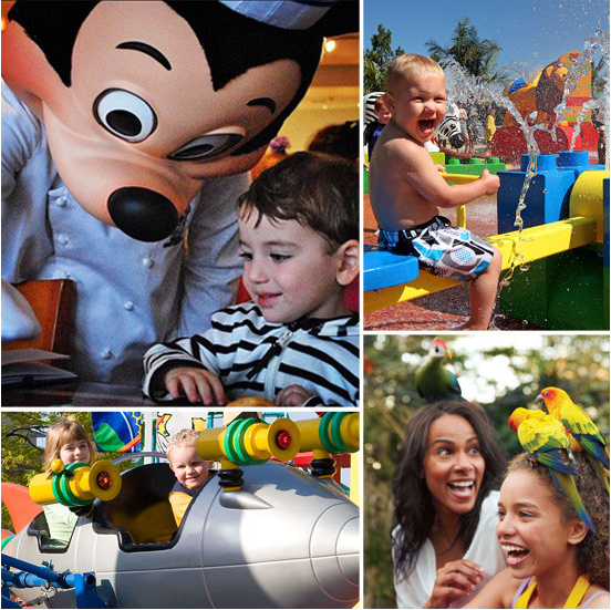 Theme Parks For the Whole Family