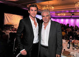 Liam Hemsworth and Gary Ross