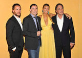 Taylor Kitsch, John Travolta, Blake Lively and Oliver Stone