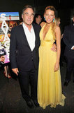 Oliver Stone and Blake Lively
