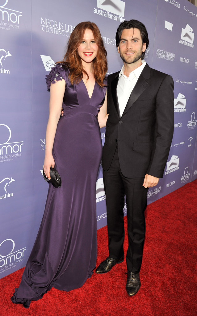 Anna McGahan and Wes Bentley