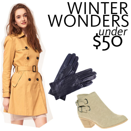 How To Dress For Winter On A Budget: Shop Our Under $50 Essentials