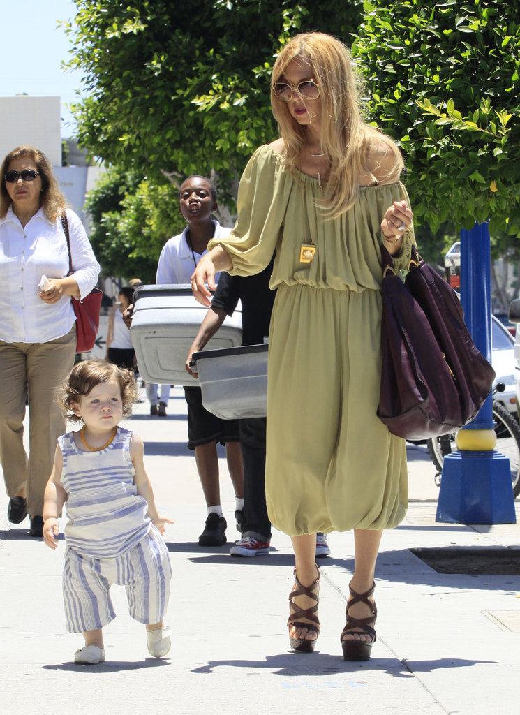 Rachel Zoe and Skyler Berman Put on Big Smiles For a Sunny Stroll