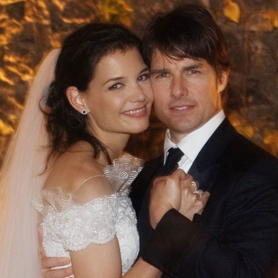 Look Back at Pictures of Tom Cruise and Katie Holmes's Wedding Day