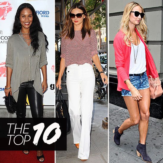 Soak Up Some Serious Style, Courtesy of This Week's Top 10