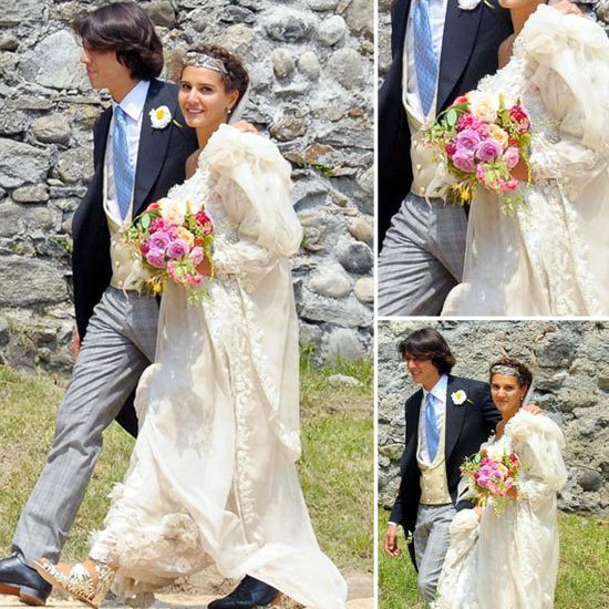 Margherita Missoni made a gorgeous bride when she got married over the weekend in a dress that her friend, Giambattista Valli, helped her design.