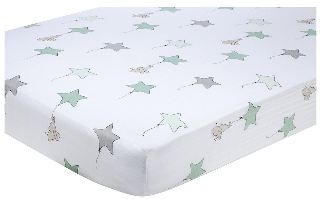 Aden + Anais Up, Up, and Away Crib Sheet ($30)