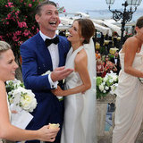 First Look at Kate Waterhouse and Luke Ricketson's Stylish Italian Wedding!