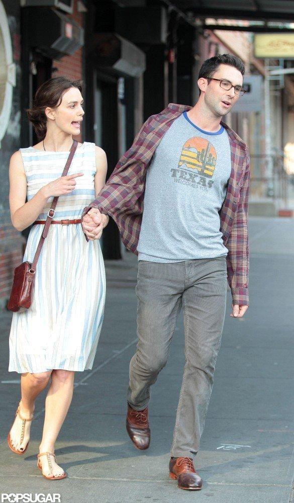 Keira Knightley and Adam Levine Expose Their Movie Romance