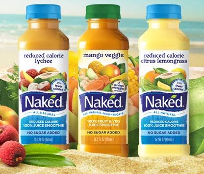 Naked Juice Reduced Calorie Smoothies