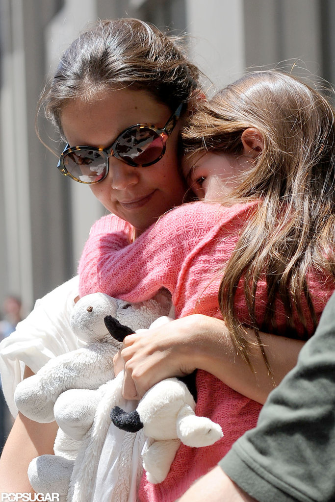 Katie Holmes and Suri Stick Together to Shop Whole Foods