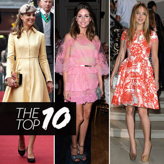 Top 10 Best Dressed Celebrities This Week Including Kate Middleton, Jennifer Lawrence and Olivia Palermo