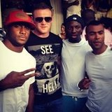 Reggie Bush posted this photo with friends. Source: Instagram User reggie_bush22