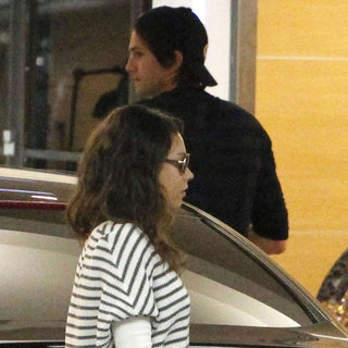 Mila Kunis and Ashton Kutcher Lunch Date Pictures