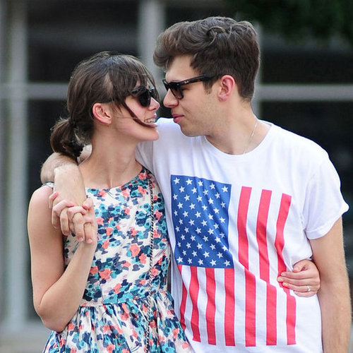 Keira Knightley James Righton Kiss in NYC Pictures