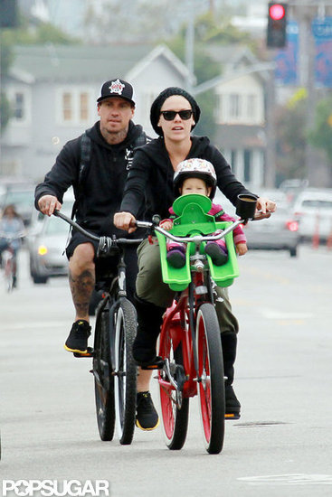 Pink and Carey Wrap an Emotional Weekend With a Family Bike Ride