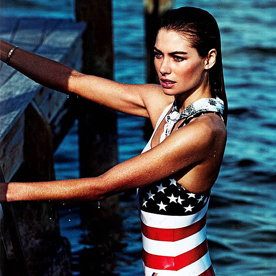 Patriotic American Styling From our Favourite Fashion Magazines