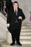 Alber Elbaz looked dapper at Christian Dior.