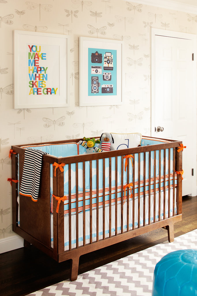 A Graphic, Hip Nursery