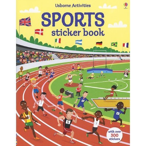 Get Stuck on the Usborne Activities Sports Sticker Book ($9)