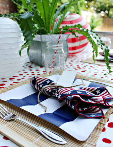Patriotic Tablesetting