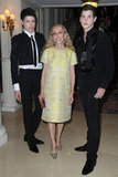 Vogue Italia Editor in Chief Franca Sozzani and Guests