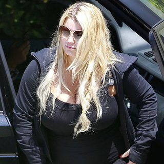 Jessica Simpson Working Out After Pregnancy
